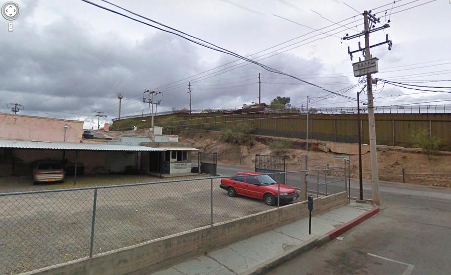 nogales - heroica nogales muro desde mexico
