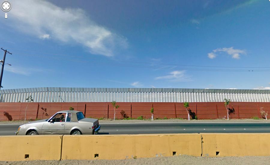 san diego - tijuana muro desde mexico
